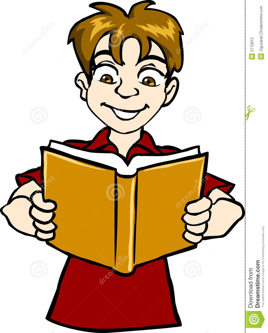 1046x1300 Boy Reading Clipart