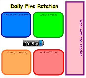 350x318 This Is A Rotation Chart You Can Use For Daily Five Literacy