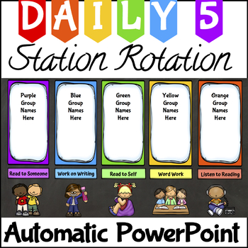 350x350 Center Rotation Automatic Powerpoint For Daily 5 By Ally Riopelle