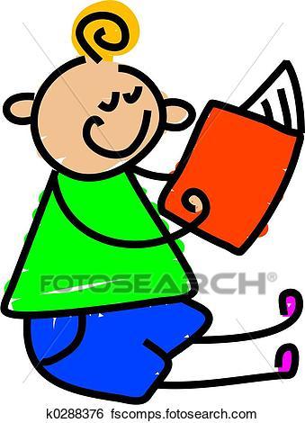 339x470 Stock Illustration Of My Reading Book K0288376