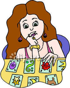 237x300 Tarot Card Reader Clip Art Cliparts