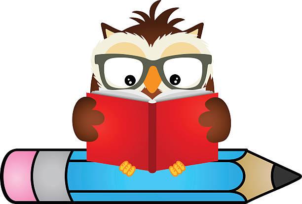 612x415 Owl Reading Clip Art 101 Clip Art