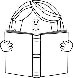 236x251 Reading A Book Clip Art Image