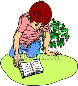 273x300 Reading A Book Clip Art