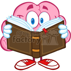300x300 Royalty Free 5839 Royalty Free Clip Art Smiling Brain Cartoon
