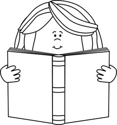 Reading A Book Clipart Free