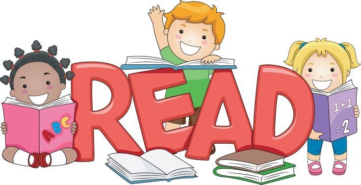 736x377 Children Reading Book Clipart