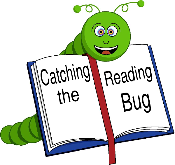 600x563 Catching The Reading Bug Clip Art