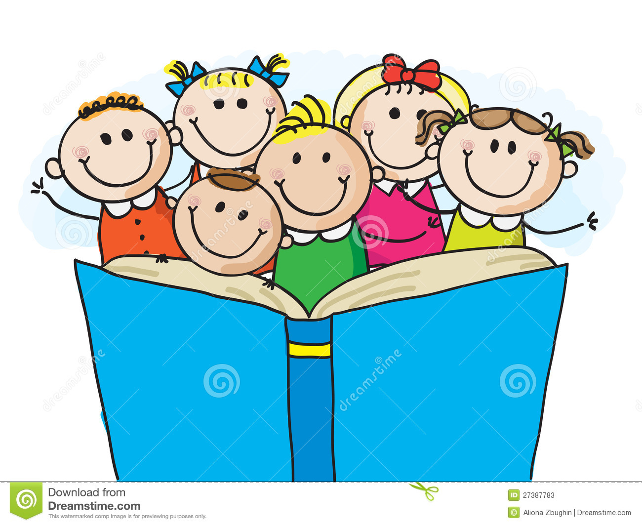 1300x1065 Clipart Of Kids Reading