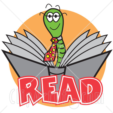 450x450 Child Reading Book Clipart