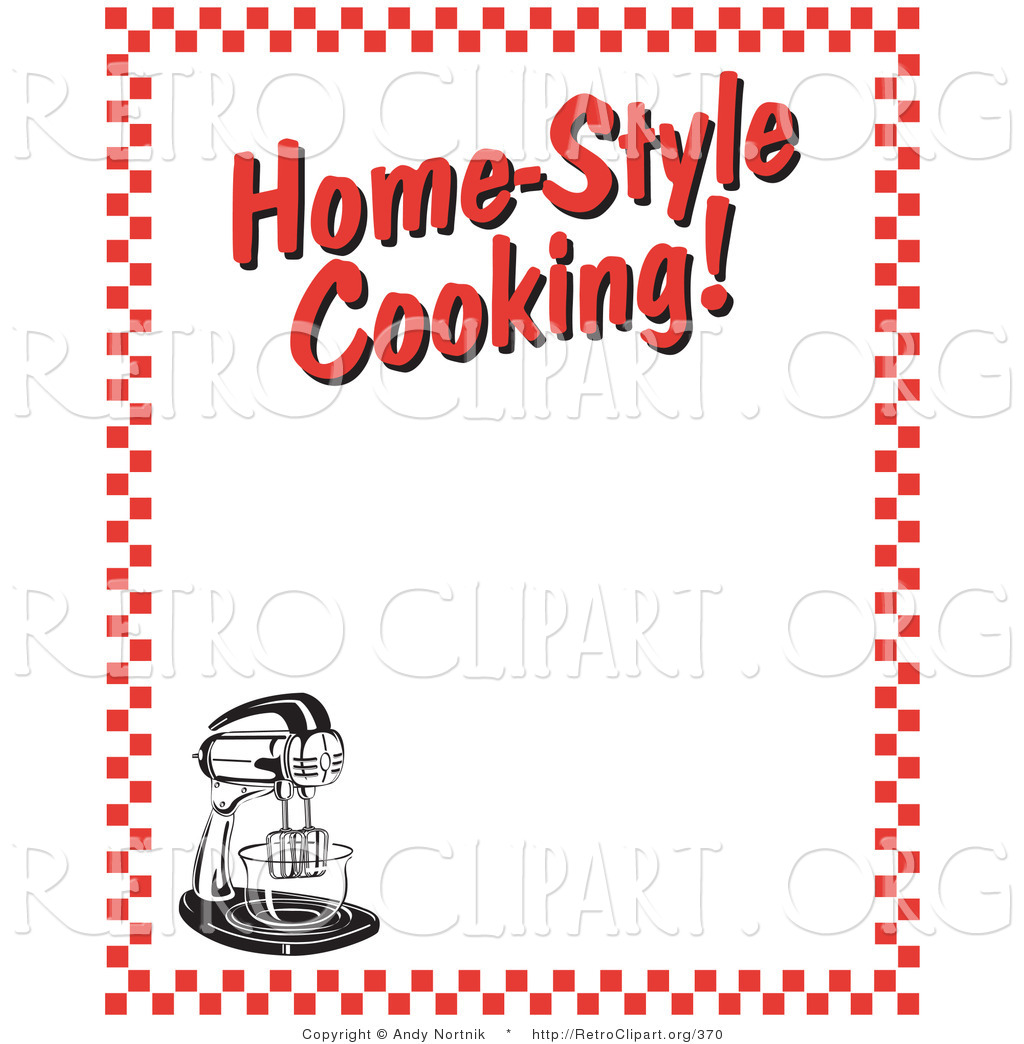 1024x1044 Retro Clipart Of A Stand Mixer And Text Reading Home Style