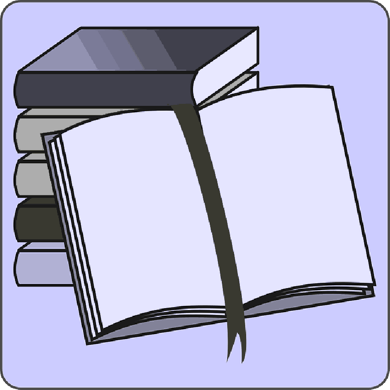 800x800 Student, Icon, Open, Reading, Cartoon, Border, Free