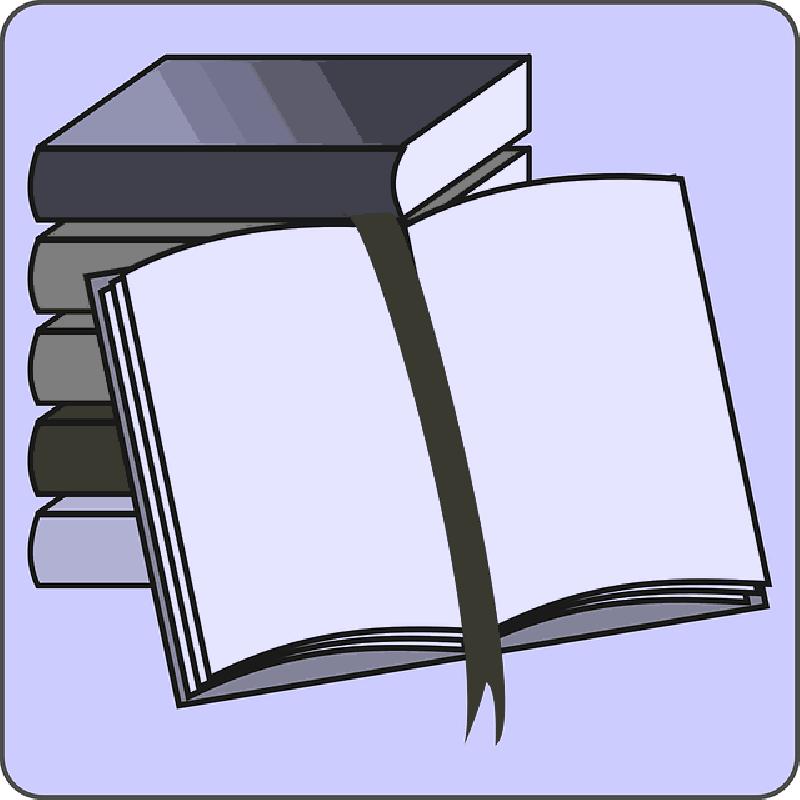 800x800 Student, Icon, Open, Reading, Cartoon, Border, Free
