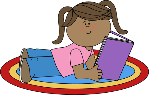 500x319 Girl Reading Clip Art
