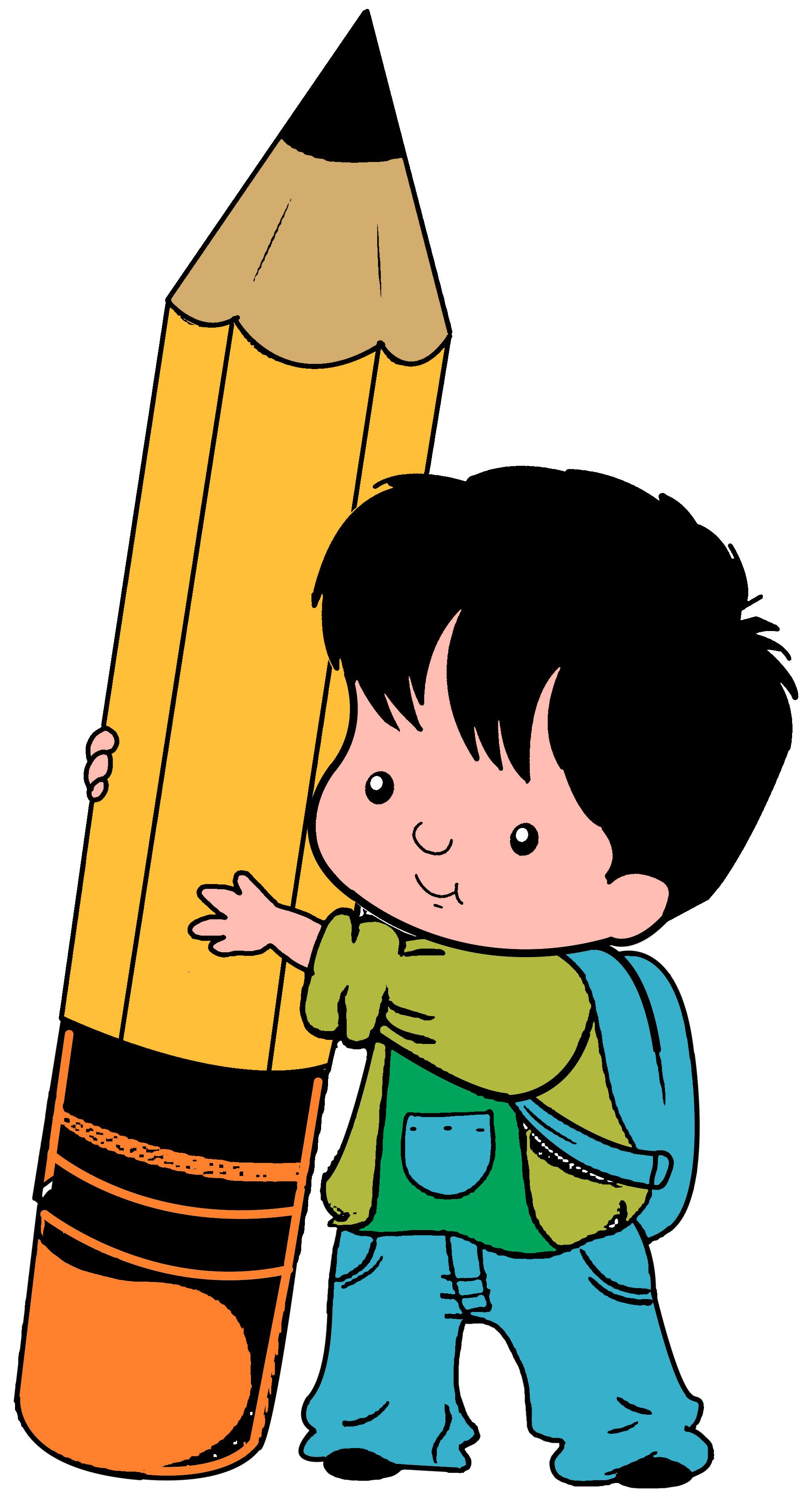2000x3689 Pencil Clipart Children'S