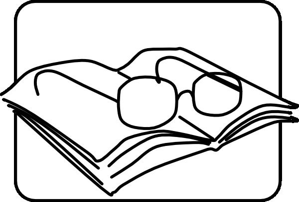 600x407 Reading Glasses Clip Art