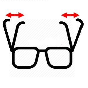 300x300 Blue Rbb Pocket Clip Tube Prescription Reading Glasses.