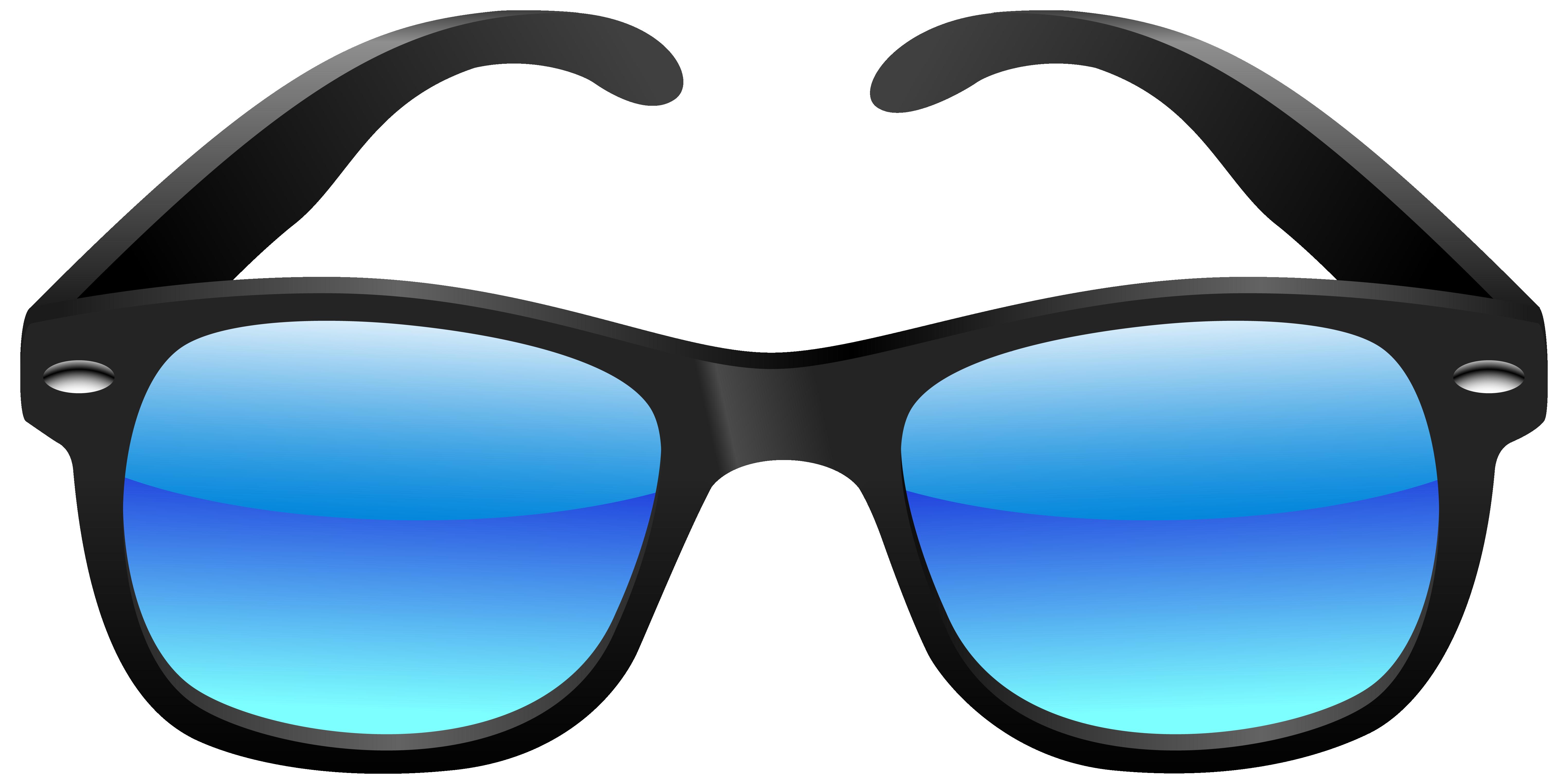 6099x3047 Sunglasses Clipart Download
