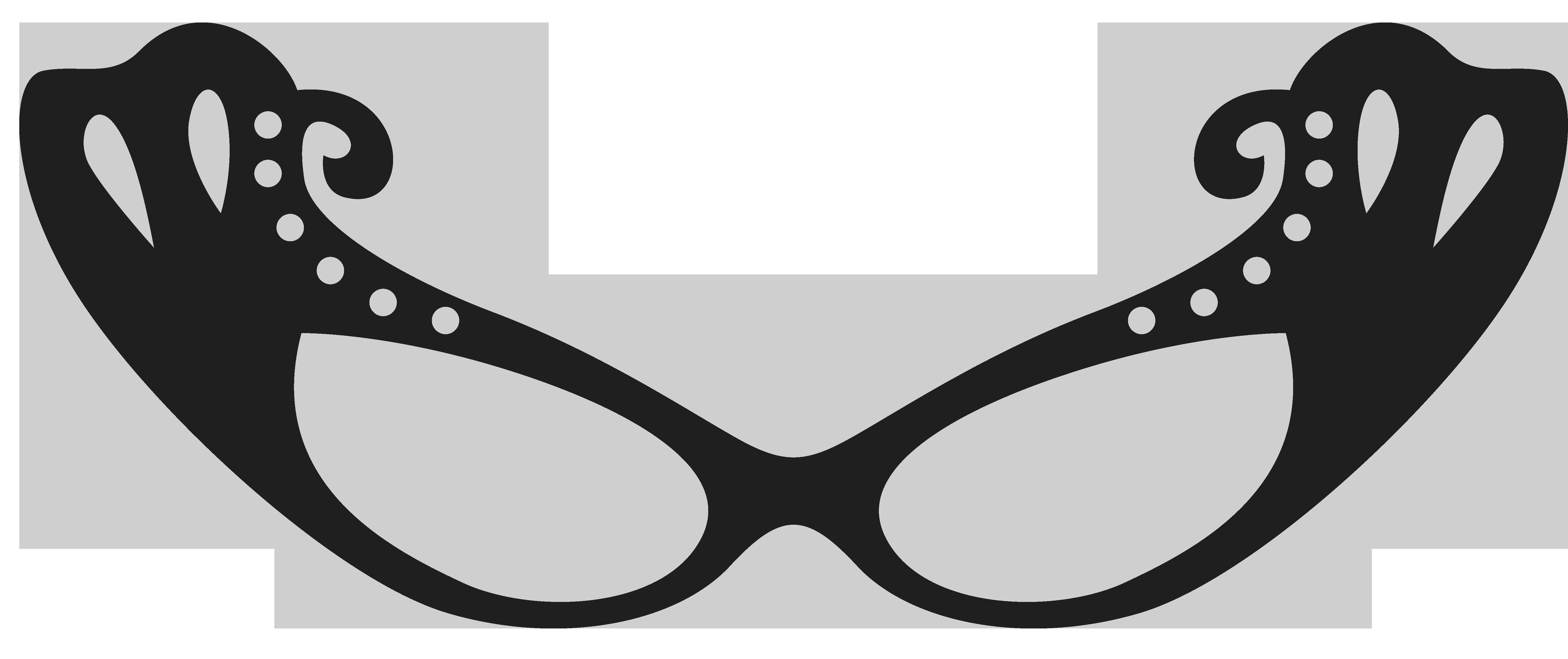 5852x2459 Sunglasses Clipart Geek Glass
