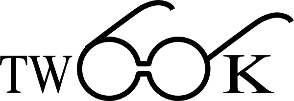 600x207 Twook Logo With Glasses Clip Art