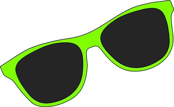 600x369 Vintage Reading Glasses Clipart Image