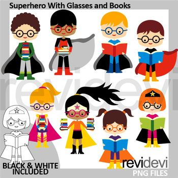 350x350 42 Best Superhero Clipart For Craft And Classroom Images