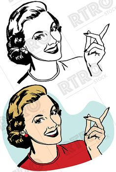 236x351 Group Of Women Reading Exciting News Vintage Retro Clip Art