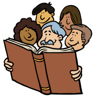 190x190 Reading Group Clipart