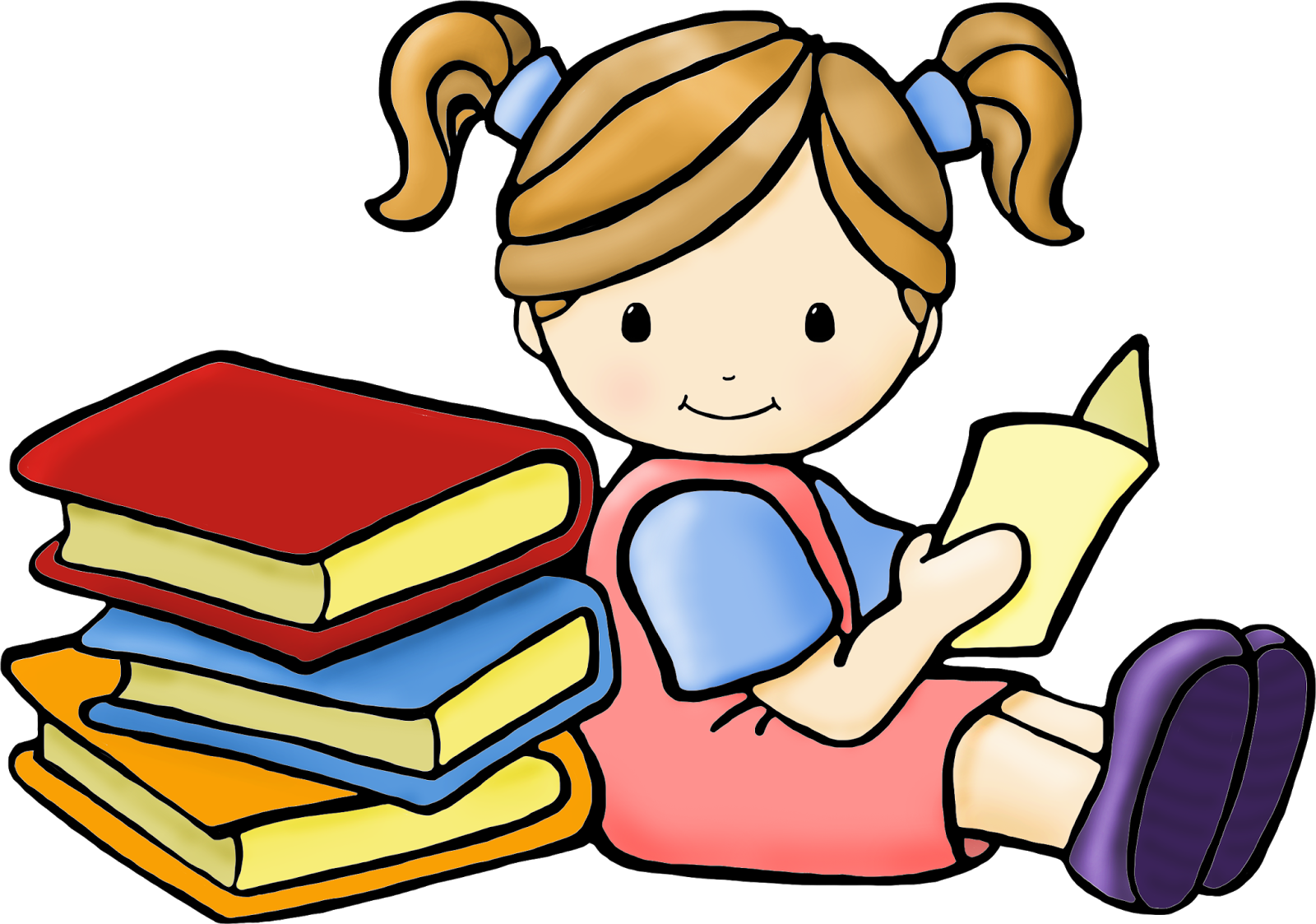 1600x1123 Children Reading Clip Art