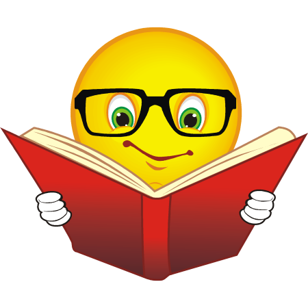 450x450 Reading Clipart