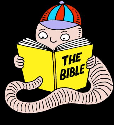 367x400 Image Bible Bookworm Bible Clip Art