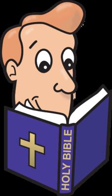 228x400 Image Man Reading Bible Bible Clip Art