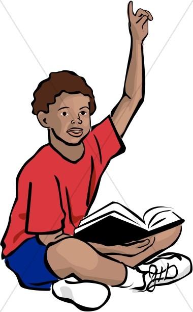 380x612 Teen Bible Study Clipart