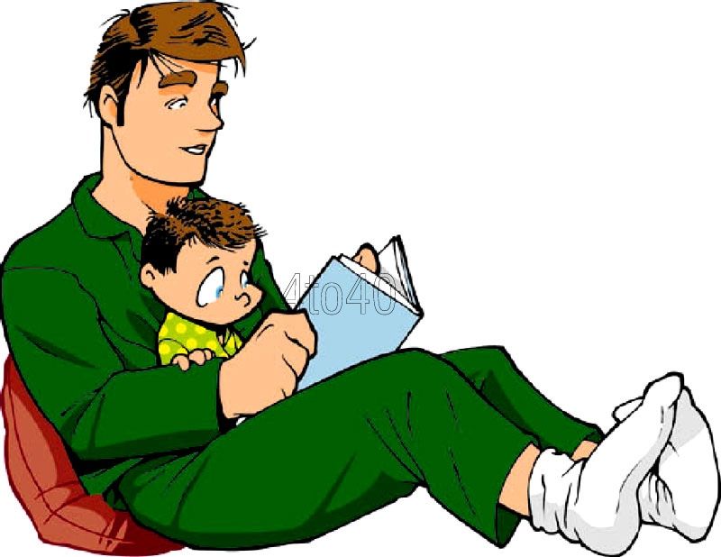 800x618 Clip Art Dad Reading Stories Cool Art Reading Stories