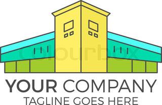 320x208 Vector Modern House Logo Design, Real Estate Icon Suitable