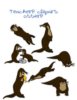 270x350 56 Best Clip Art Images Otters, To Draw And Applique
