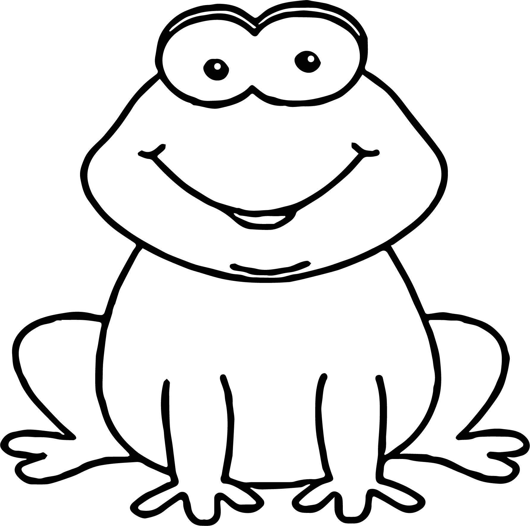 Exelent Realistic Frog Coloring Pages Frieze - Ways To Use Coloring ...