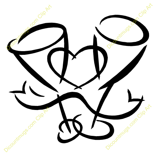 500x500 Hearts Clipart Wedding Reception