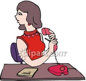 300x283 Giving A Message Clip Art Royalty Free Clipart Picture