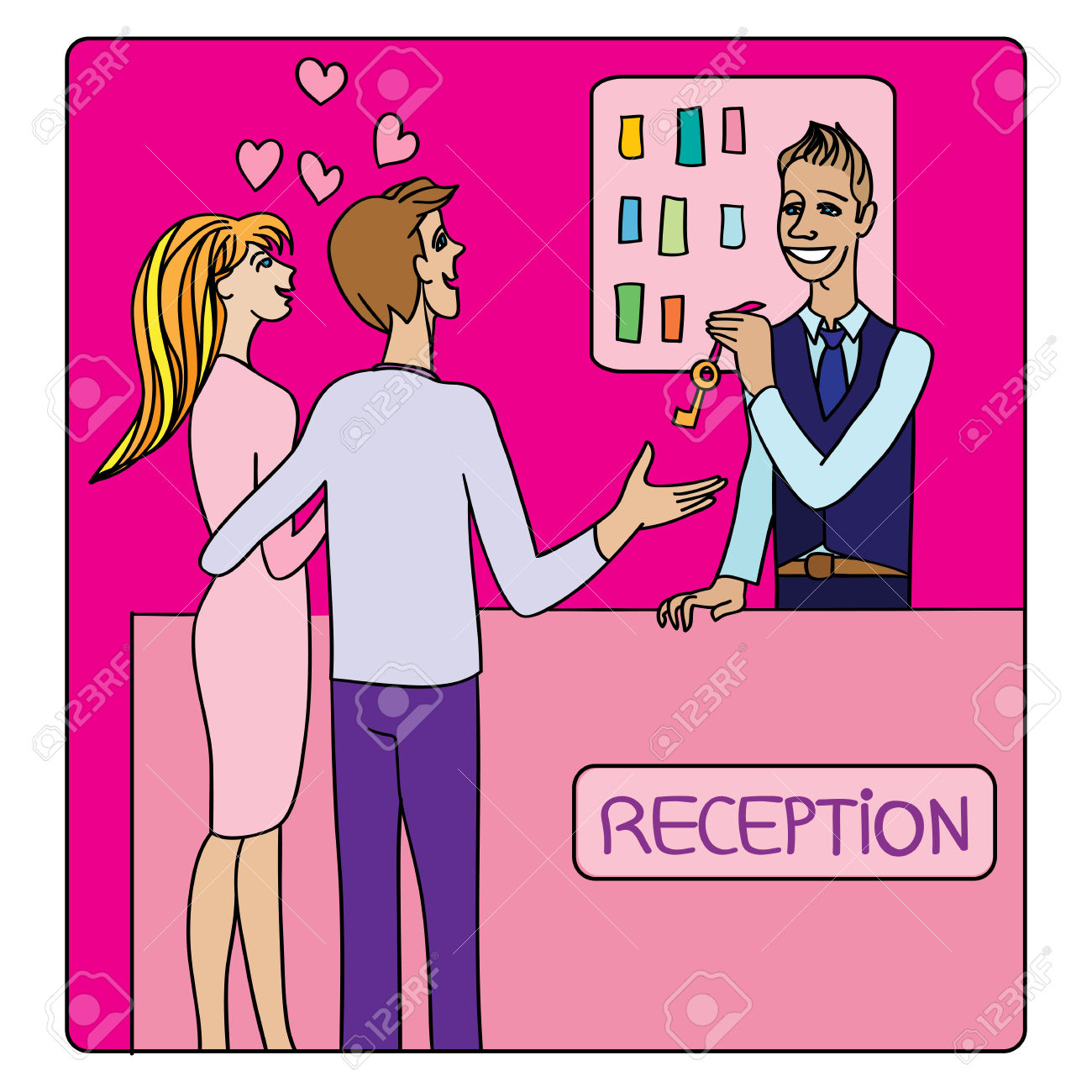 1300x1300 Hotel Clipart Hotel Receptionist