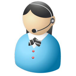 256x256 Receptionist Free Images