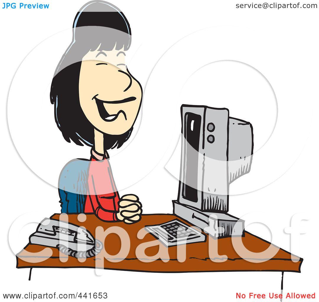 1080x1024 Royalty Free (Rf) Clip Art Illustration Of A Cartoon Pleasant