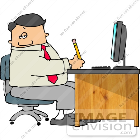 450x450 Caucasian Business Man Taking Notes