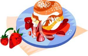 300x192 Clip Art Strawberry Shortcake Dessert Recipe Cliparts