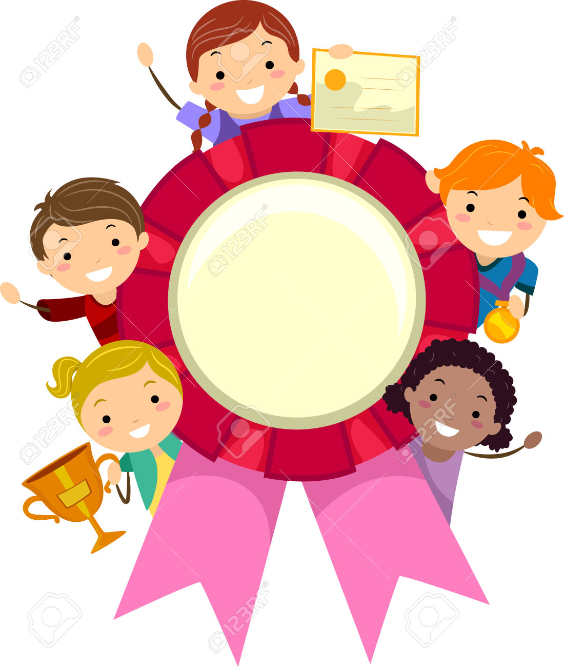1100x1300 Free Recognition Award Clipart