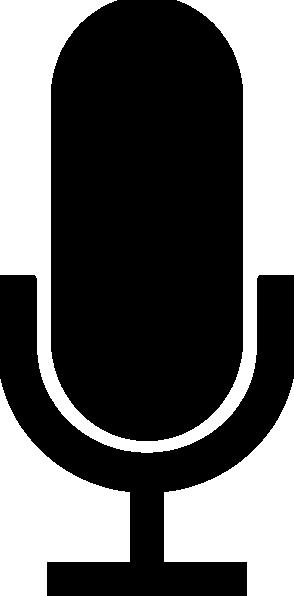 294x596 Microphone Icon Clip Art