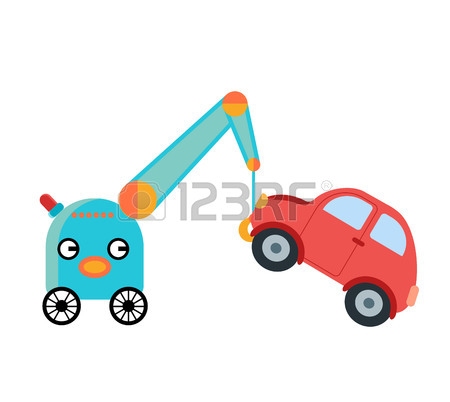 450x402 323 Recovery Truck Cliparts, Stock Vector And Royalty Free