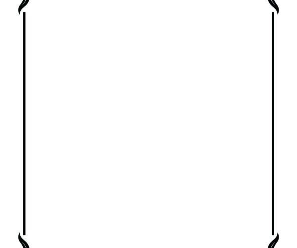 600x500 Free Clipart Frames Borders And Frames Simple Elegant Black Frame