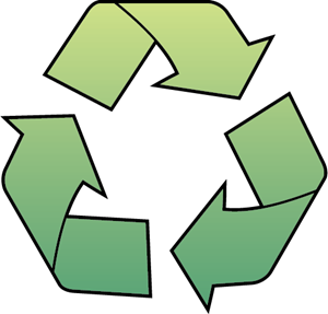 300x287 Recycle Logo Vector (.eps) Free Download