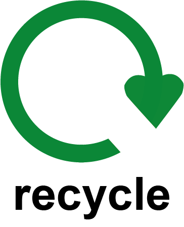 364x449 Recycling Symbol Labels